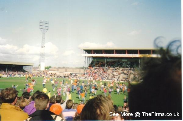 Lincoln v Blackpool 80's