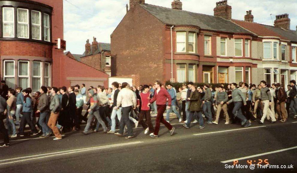 Man united at everton 80's