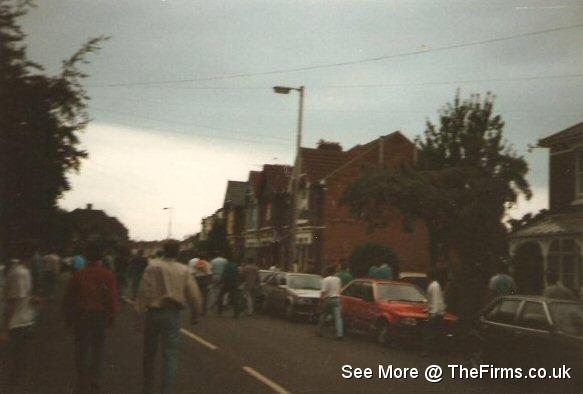 Portsmouth at Millwall 87