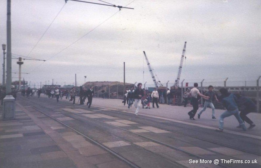 Wigan & Leeds in Blackpool 80's 10