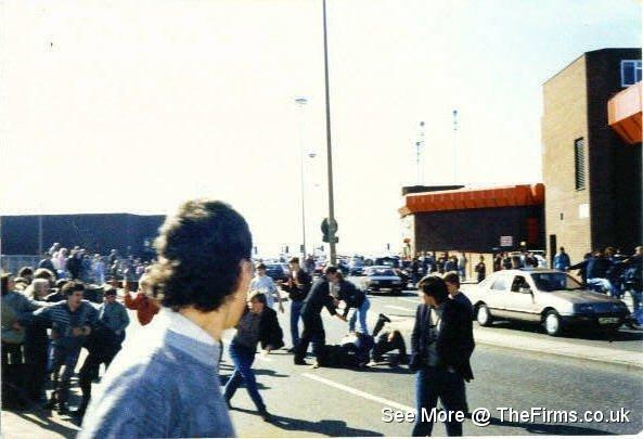 Wigan & Leeds in Blackpool 80's 3