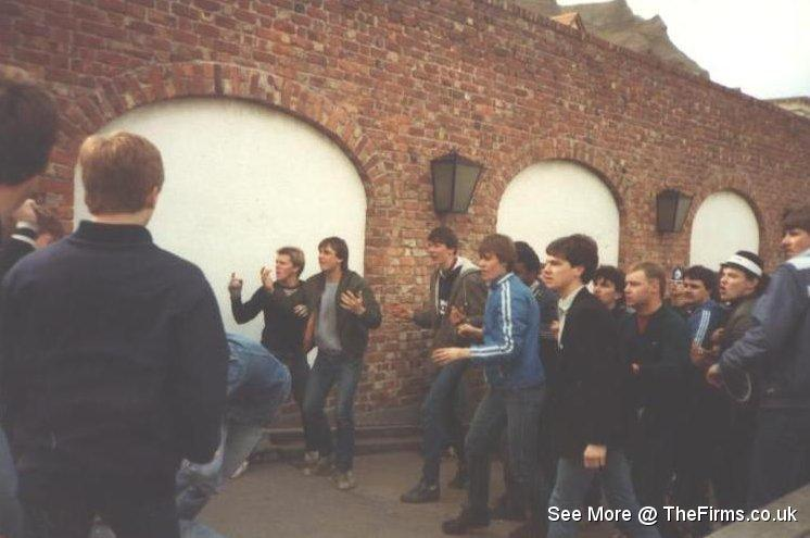 Wigan & Leeds in Blackpool 80's 4