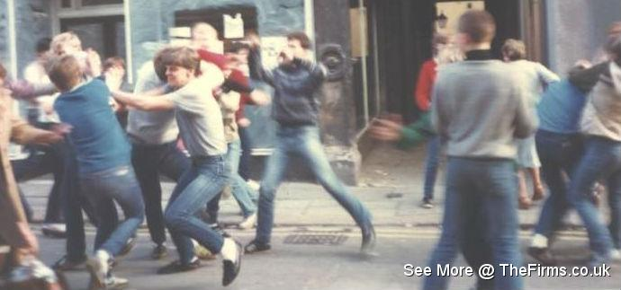 Wigan v chesterfield 80's