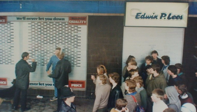 leeds on the way to city '85 1