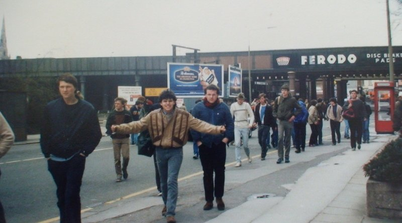leeds on the way to city '85