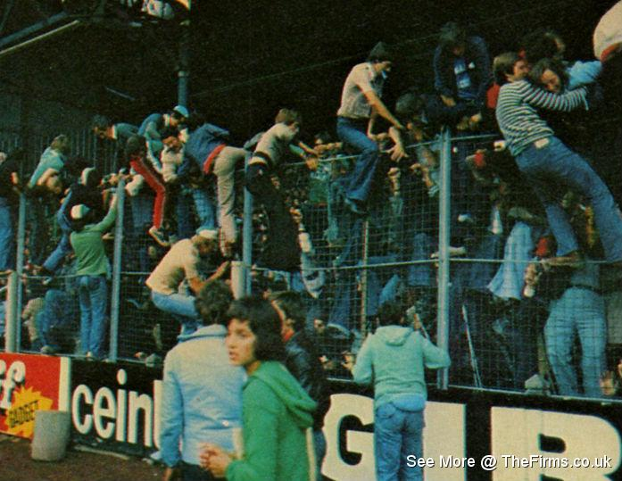 man united v st etienne 1977