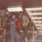 man utd and west ham - koningen beatrix ferry riot - 1986 3
