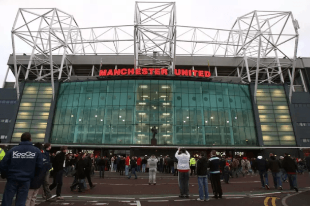 Old Trafford, home of Manchester United. Nick Potts/PA Wire